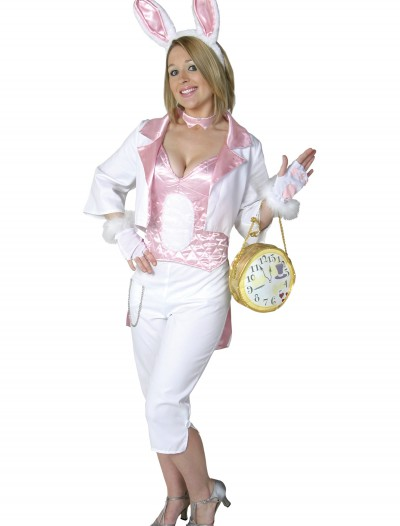 Womens White Rabbit Costume buy now