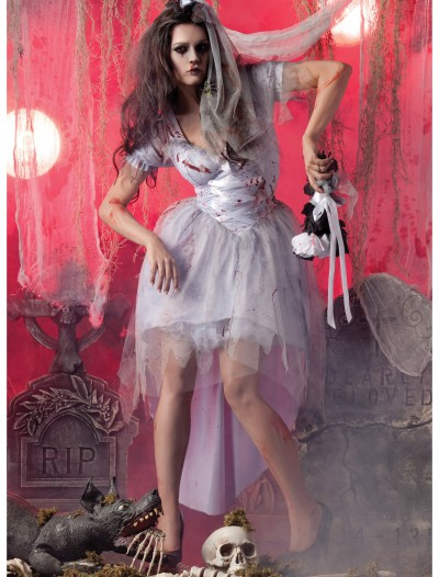 Womens Zombie Bride Costume buy now
