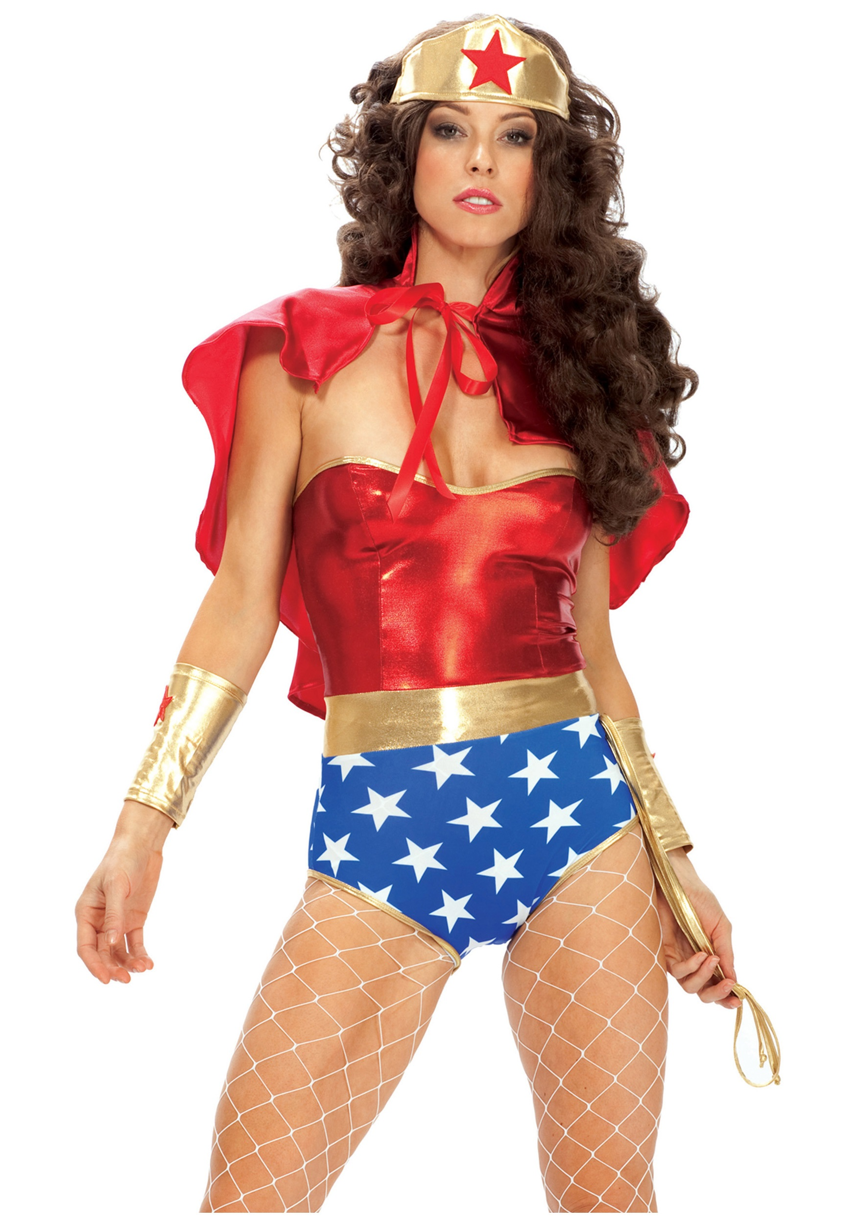 Wonder Seductress Superhero Costume  sc 1 st  Halloween Costumes & Wonder Seductress Superhero Costume - Halloween Costumes