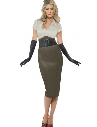 WW2 Army Pin Up Darling Costume buy now