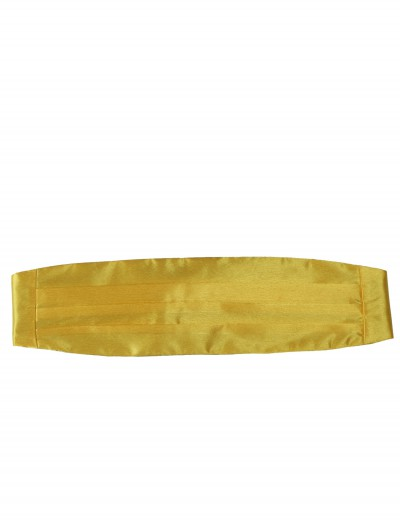 Yellow Cummerbund buy now