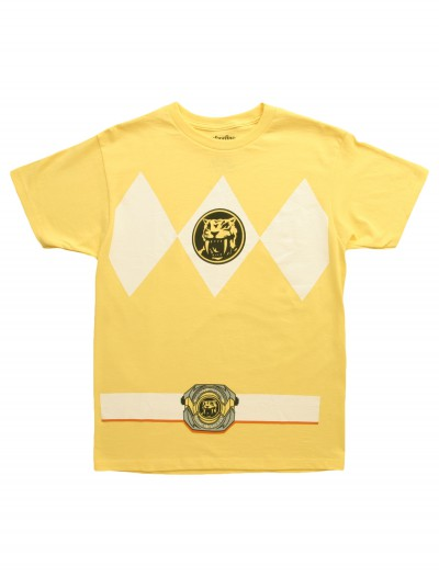 Yellow Power Ranger T-Shirt buy now