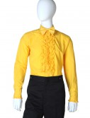Yellow Ruffled Tuxedo Shirt buy now