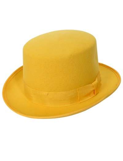 Yellow Wool Top Hat buy now