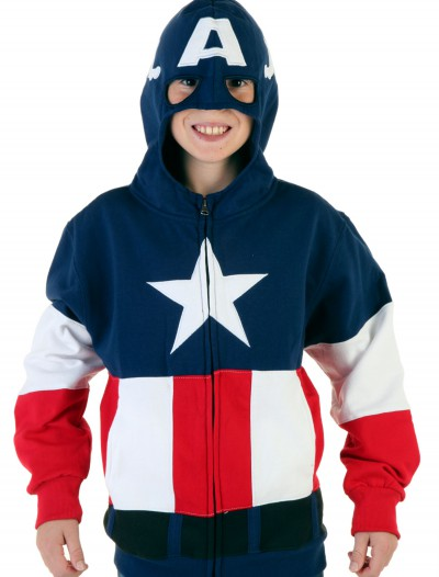 Youth Captain America Hoodie buy now