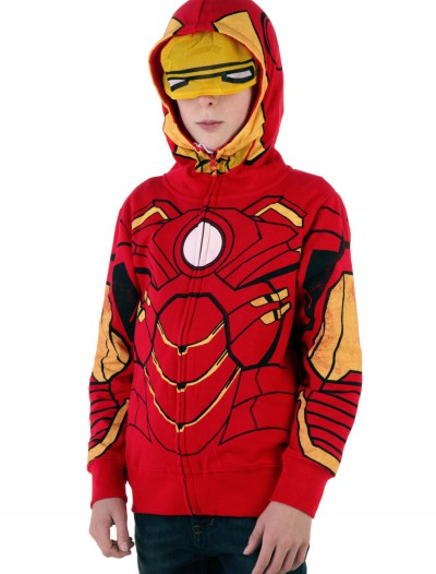 Youth Iron Man Costume Hoodie buy now