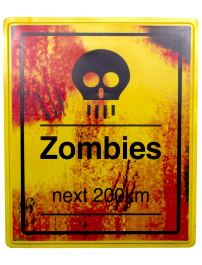 Zombies Next 200 KM Sign buy now