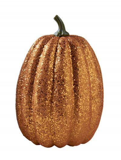 "11"" Tall Orange Glitter Pumpkin buy now"