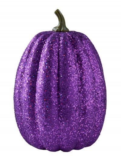 "11"" Tall Purple Glitter Pumpkin buy now"