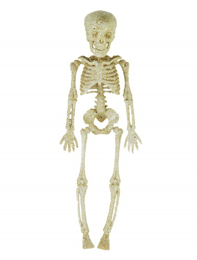 "11.5"" Silver Glitter Skeleton buy now"