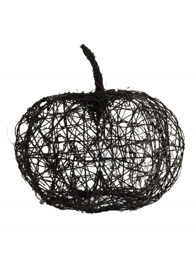 "16.5"" Black Wire Glitter Pumpkin buy now"