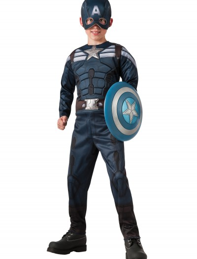 2 in 1 Reversible Captain America/Winter Soldier Costume buy now