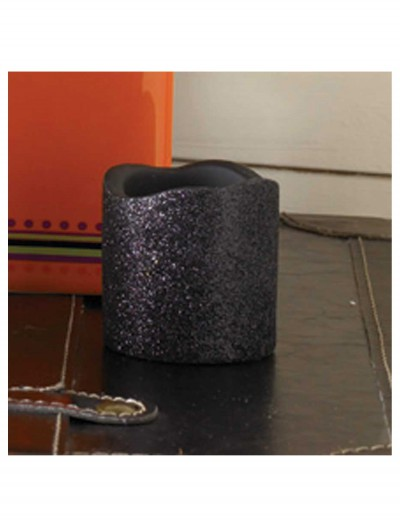 2 Inch Black Glitter LED Candle buy now