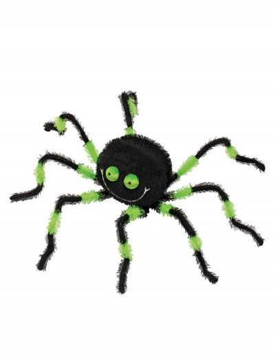 "20"" Green and Black Posable Friendly Spider buy now"
