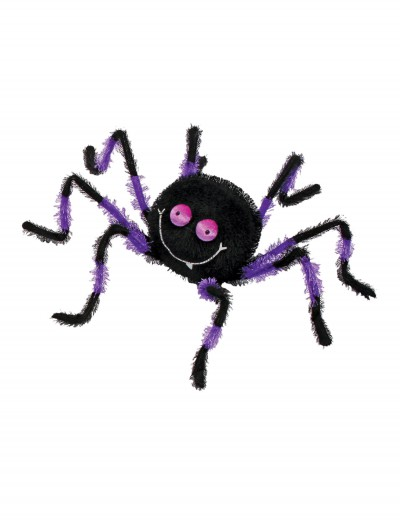"20"" Purple and Black Posable Friendly Spider buy now"