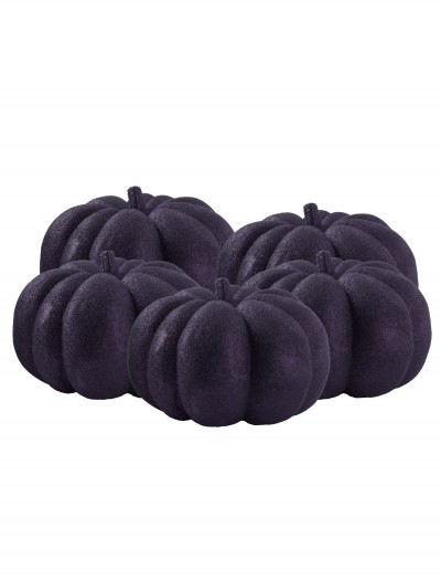 36 Piece Black Glitter Mini Pumpkins buy now