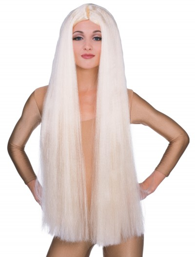 36in Long Blonde Witch Wig buy now