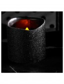 4 Inch Black Glitter LED Candle buy now