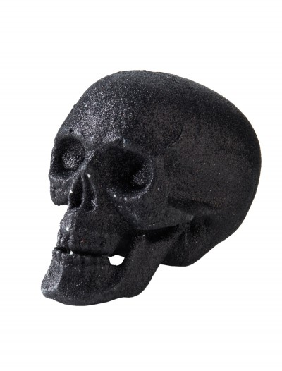 "5"" Small Black Glitter Skull buy now"