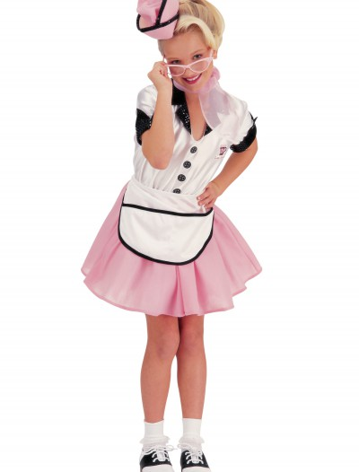 50s Child Soda Pop Girl Costume buy now