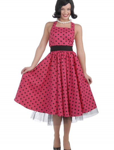 50s Polka Dot Dress Costume buy now
