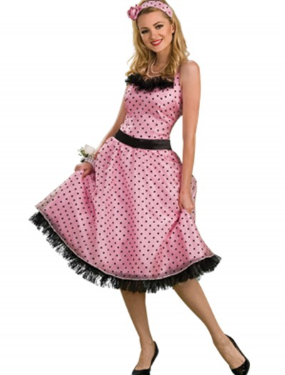 50s Polka Dot Prom Dress buy now