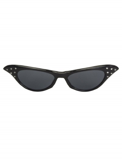 50s Rhinestone Black Sunglasses buy now