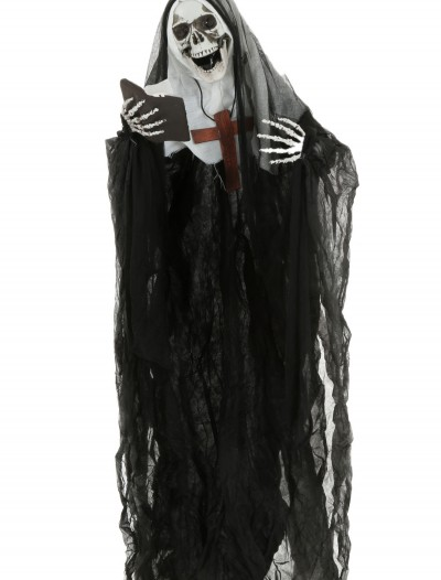 "51"" Skeleton Nun Hanging Prop buy now"