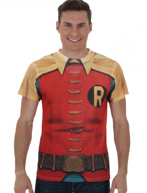 60's Robin Sublimated Costume T-shirt buy now