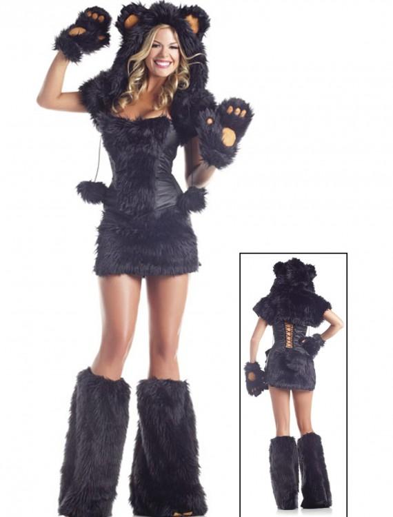 8 pc Deluxe Black Bear Costume buy now