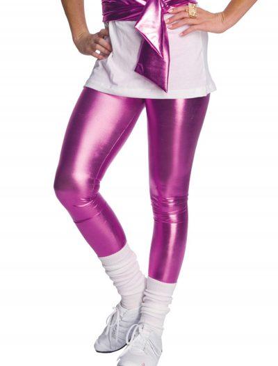 80s Pink Lame Leggings buy now