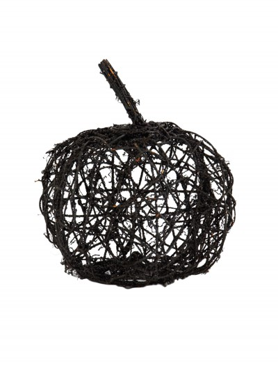 "9.5"" Black Wire Glitter Pumpkin buy now"
