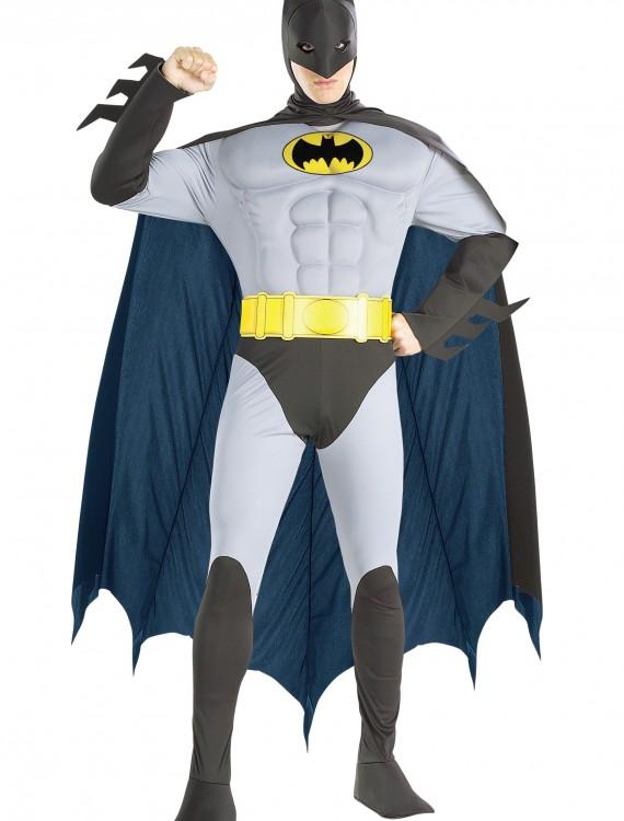 Adult Batman Muscle Costume buy now