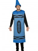 Adult Blue Crayon Costume buy now