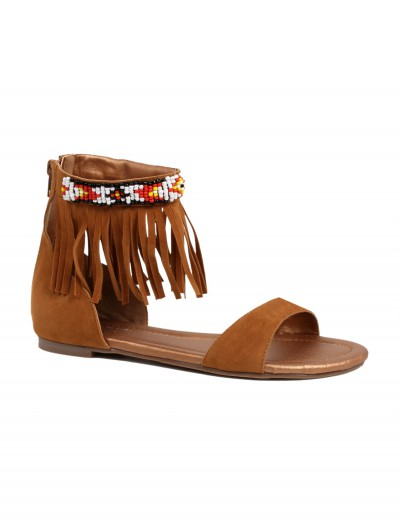 Adult Brown Indian Sandals buy now