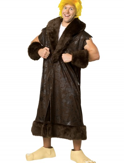 Adult Deluxe Barney Rubble Costume buy now
