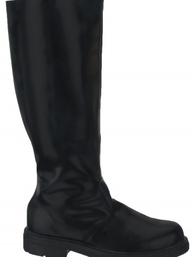 Adult Deluxe Black Boots buy now