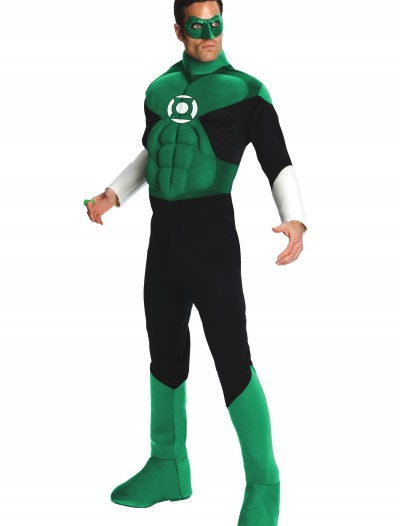 Adult Deluxe Green Lantern Costume buy now