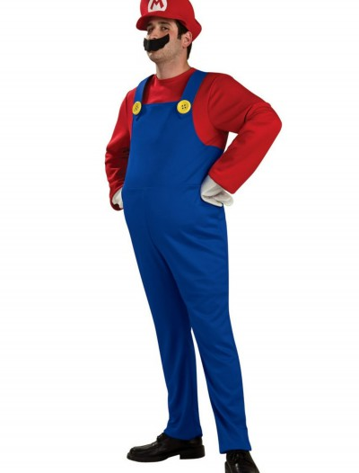 Adult Deluxe Mario Costume buy now