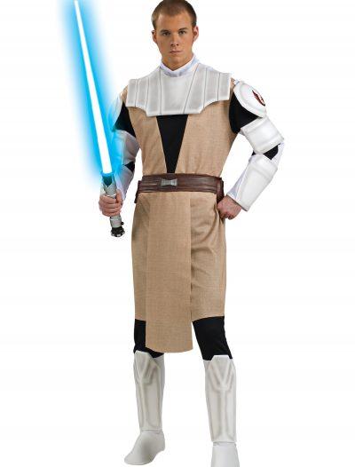 Adult Deluxe Obi Wan Kenobi Clone Wars Costume buy now