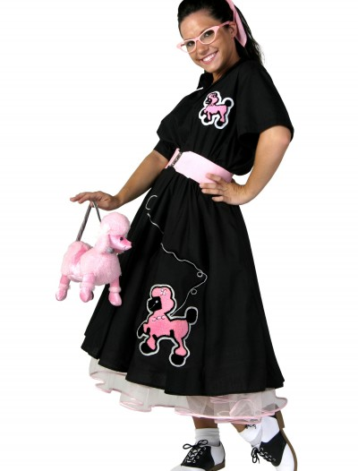 Adult Deluxe Poodle Skirt Costume buy now