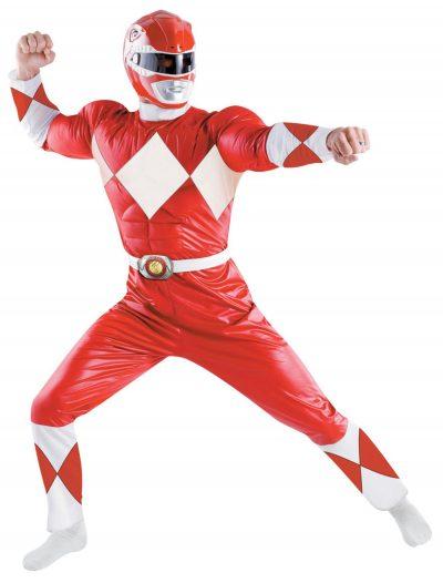 Adult Deluxe Red Power Ranger Costume buy now