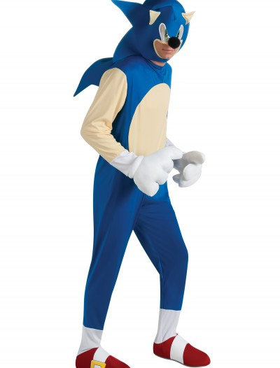 Adult Deluxe Sonic Costume buy now