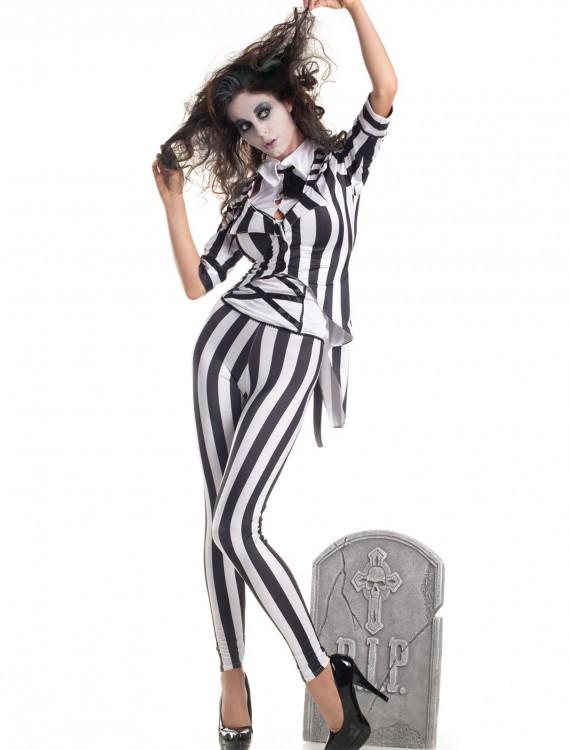 Adult Graveyard Ghost Costume buy now