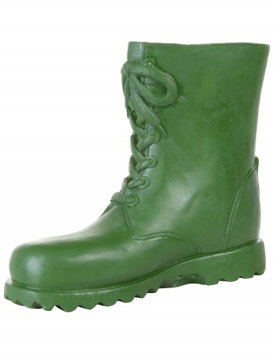 Adult Green Latex Boot Covers buy now