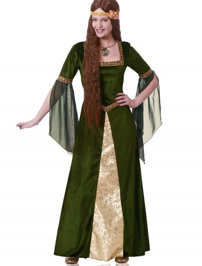 Adult Green Renaissance Lady Costume buy now