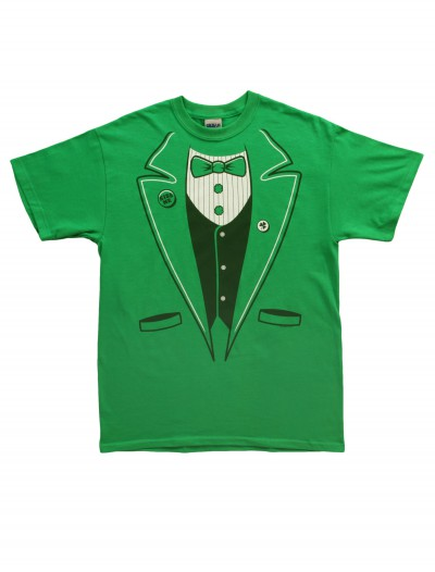 Adult Green Tuxedo T-Shirt buy now