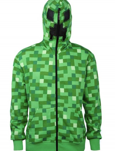 Adult Minecraft Creeper Hoodie buy now