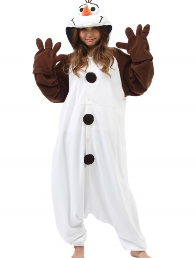 Adult Olaf Pajama Costume buy now