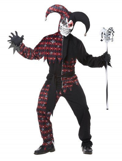 Adult Sinister Jester Costume buy now